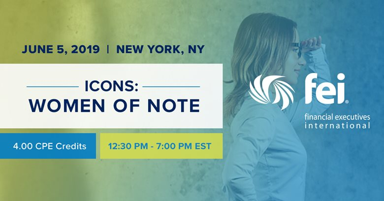 ICONS: Women of Note - June 5 in New York City