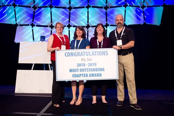 FEI San Diego Chapter Wins Most Outstanding Chapter Award